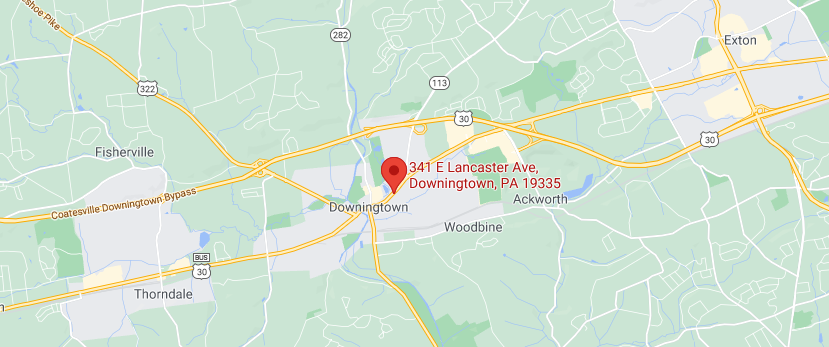 Our location in Downingtown, PA